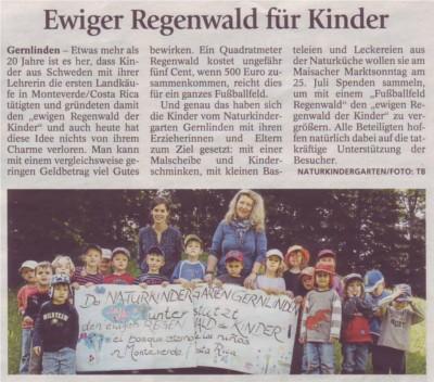 Ewiger Regenwald für Kinder